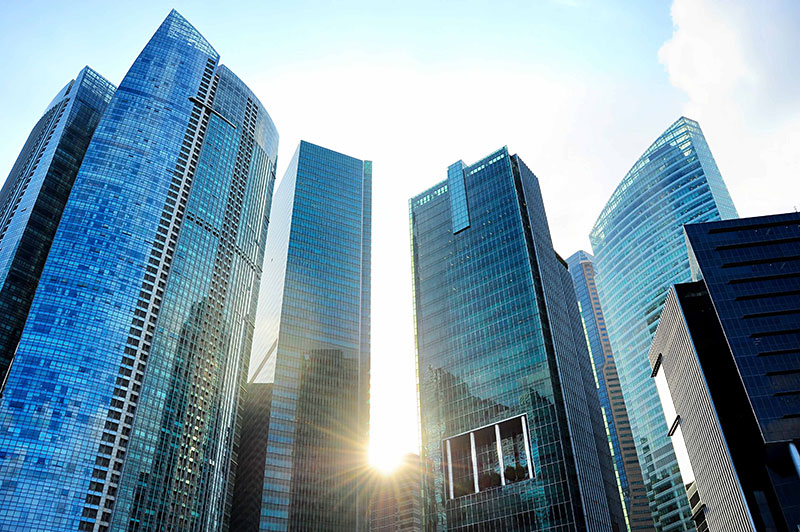 Global office building services