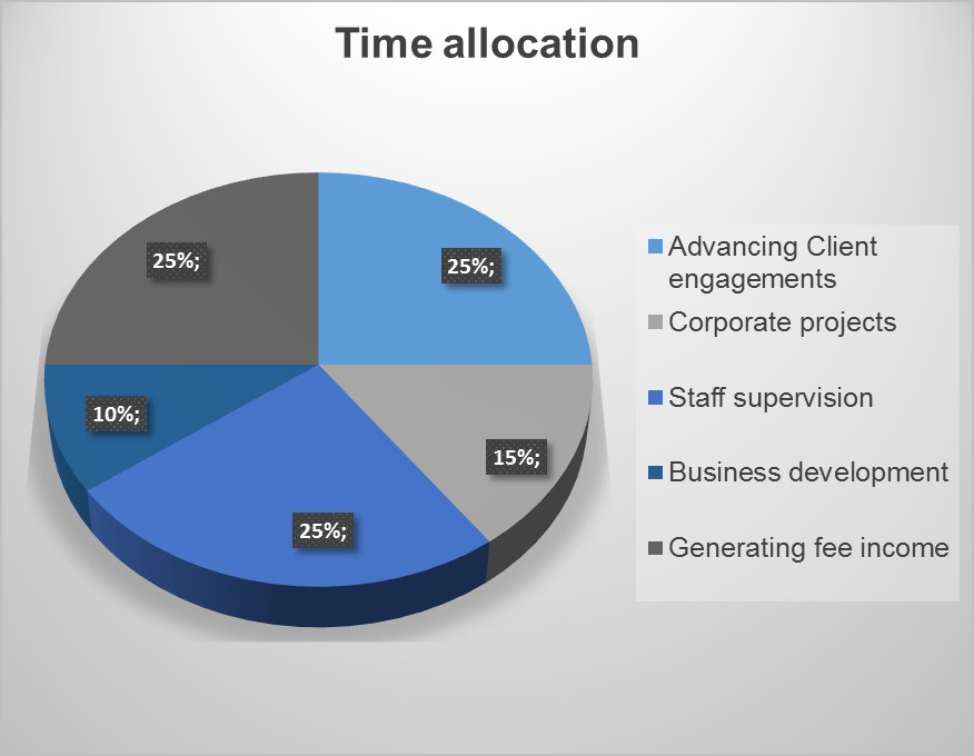 new accountant timeline allocation