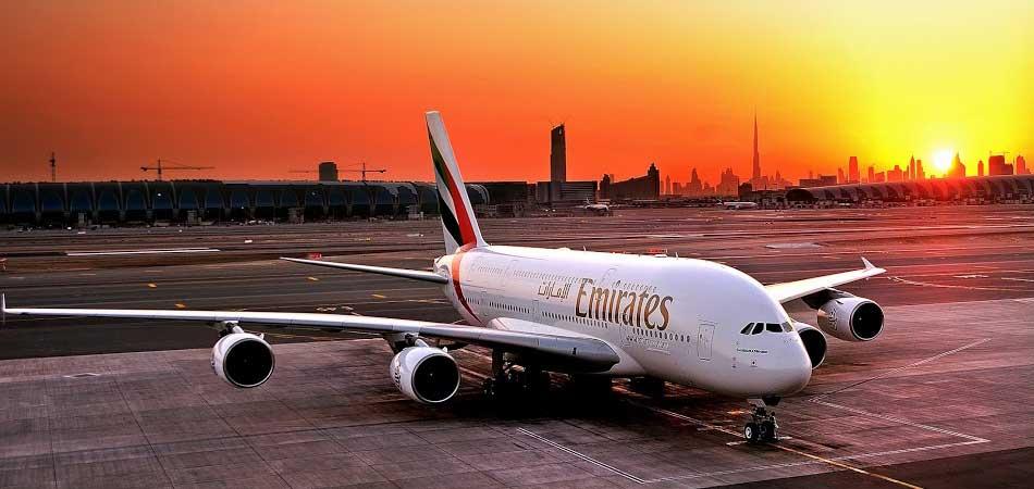 Dubai Emirates flight