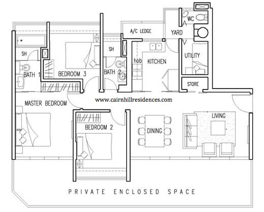 Cairnhill Floorplan