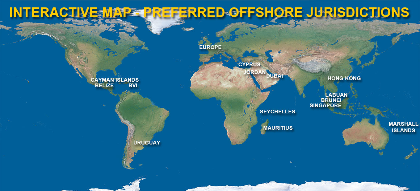 preferred offshore jurisdictions