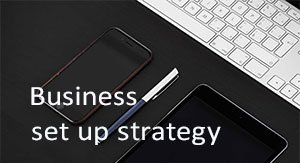 Business set up strategy