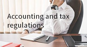 Accounting and tax regulations