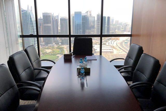 Meeting room at Dubai regional office