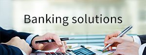 Banking solutions cover
