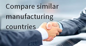 Compare similar manufacturing countries