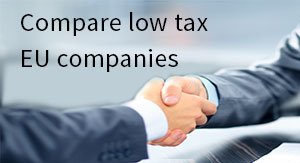 Compare low tax EU companies