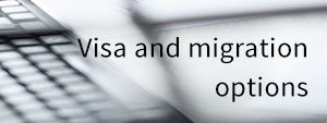 Visa and migration options cover