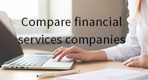 Compare financial services companies
