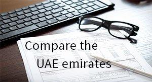 Compare UAE emirates