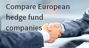 Compare European hedge fund companies