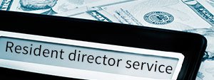 Resident director services cover