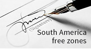 South America free zones