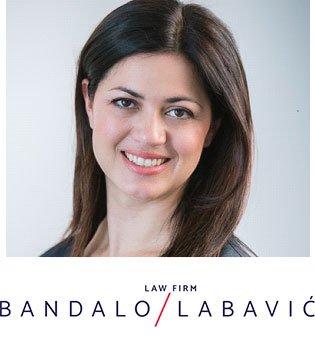company logo for Bandalo & Labavic Law firm