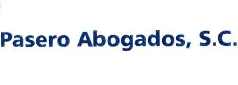 company logo for Pasero-Abogados